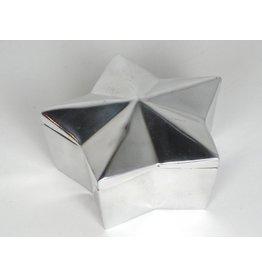 Pewter Star Box w/lid