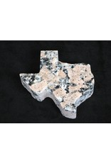 "Paperweight - Pink Granite - Texas - 5"""