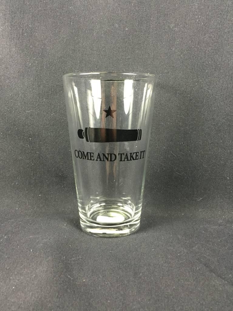 Pint glass - Come & Take It