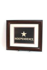 Print - Independence Flag - Mahogany