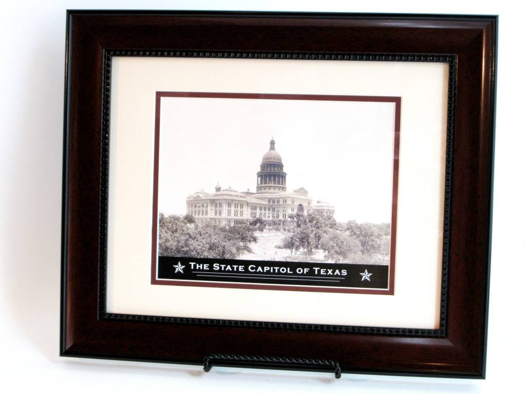 Print - Texas Capitol - Mahogany