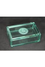 Rectangle Box - Jade Glass - 4x6