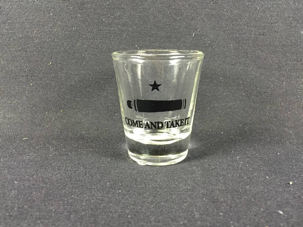 Shot Glass - Come & Take It