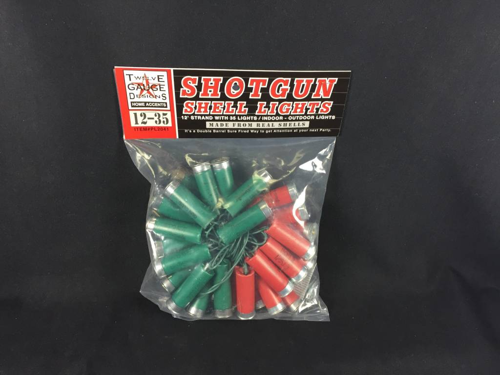 Shotgun Shell Lights - 12'