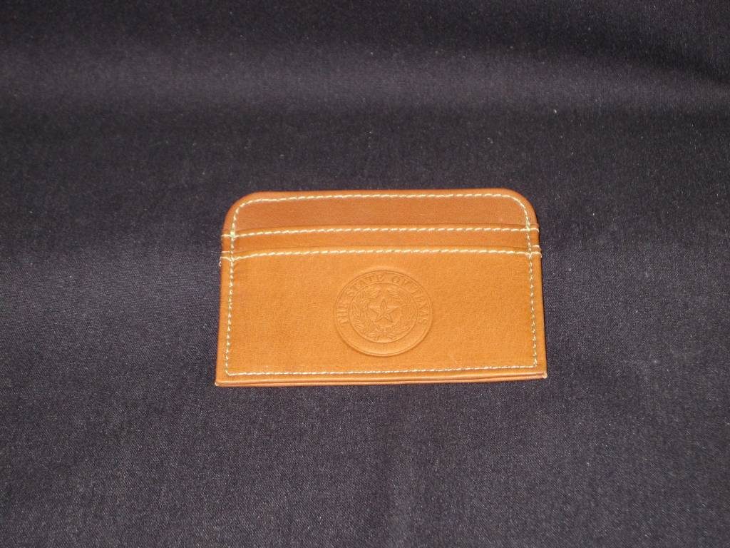 Slim Business Card Case - SDL - Texas State Seal