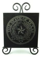 Texas State Seal Granite Tile