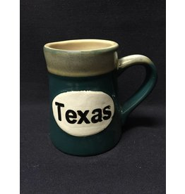 Mug - Texas Coffee mug - Ceramic Oval