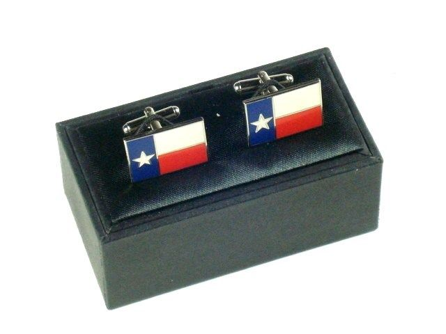 Cuff Links - Texas Flag