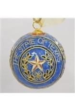 Ornament - Texas Seal - Cloisonne