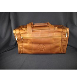 Travel Duffel with Side Pockets - Texas State Seal