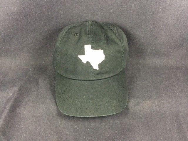 Cap - Black - Texas Shape