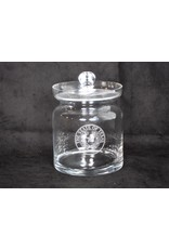 Crystal Biscuit Jar - Texas State Seal