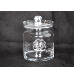 Crystal Biscuit Jar - Texas State Seal