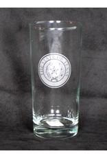 Cooler - 16 oz -Round - Texas State Seal