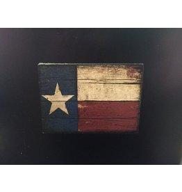 Magnet - Texas Flag - Wood
