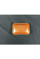 Paperweight - Tan Calf - Rectangle - Texas State Seal