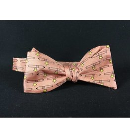 Texas Bow Tie - Come & Take It Pink