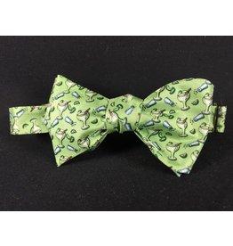 Texas Bow Tie - Margarita Green