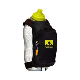 Nathan Nathan SpeedDraw Plus Insulated Handheld Hydration with 18oz Bottle: Black