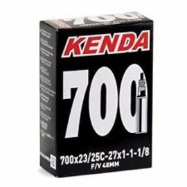 Kenda Kenda, Smooth Valve, Tube, Presta, 48mm, 700Cx23-25C