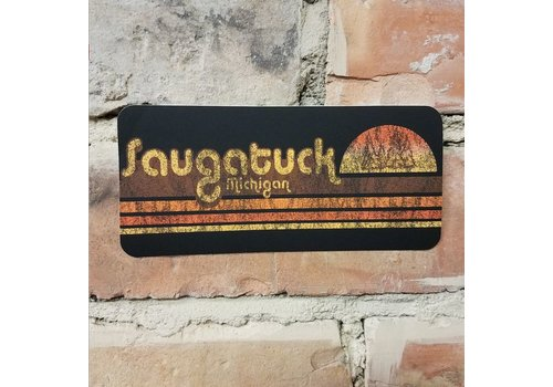 TechStyles Saugatuck Sunset Sticker