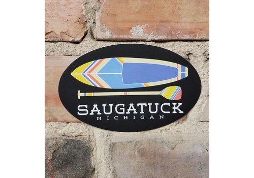 TechStyles TechStyles Saugatuck Kayak/Paddle Sticker