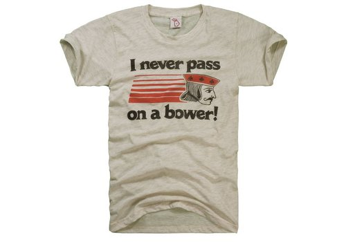 The Mitten State The Mitten State Never Pass on a Bower Shirt