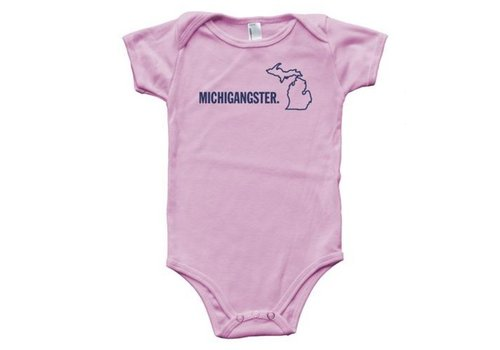 my great lake Michigangster Onesie