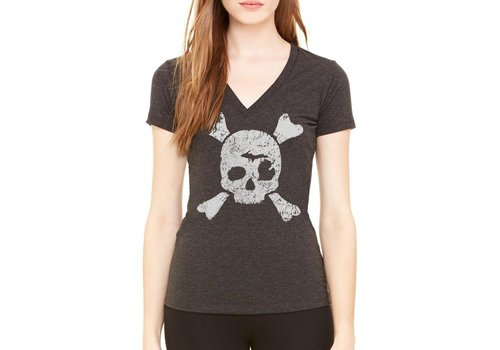 Tee See Tee W's Mirate V-Neck Triblend Tee