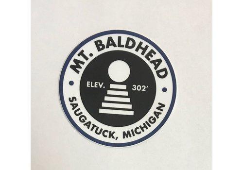 1837 Sticker Co. 1837 Sticker Co. Mt. Baldhead Sticker