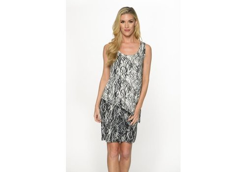 Isle Apparel Isle Apparel Layered Tank Dress