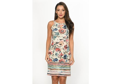Isle Apparel Isle Apparel Keyhole Dress