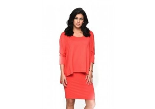 Isle Apparel Isle Apparel Betsy Double Layered Dress