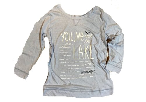 Gear for Sports Gear for Sports You, Me, & the Lake 3/4 Sleeve