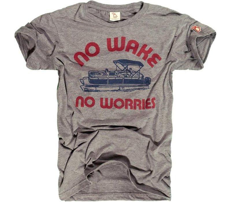 The Mitten State No Wake, No Worries Tee