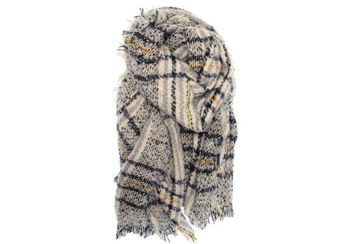 Joy Susan Joy Susan Heathered Plaid Scarf