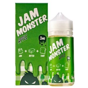 Jam Monster Jam Monster eJuice Apple - Clearance