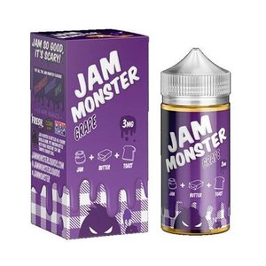 Jam Monster Jam Monster eJuice Grape- Clearance