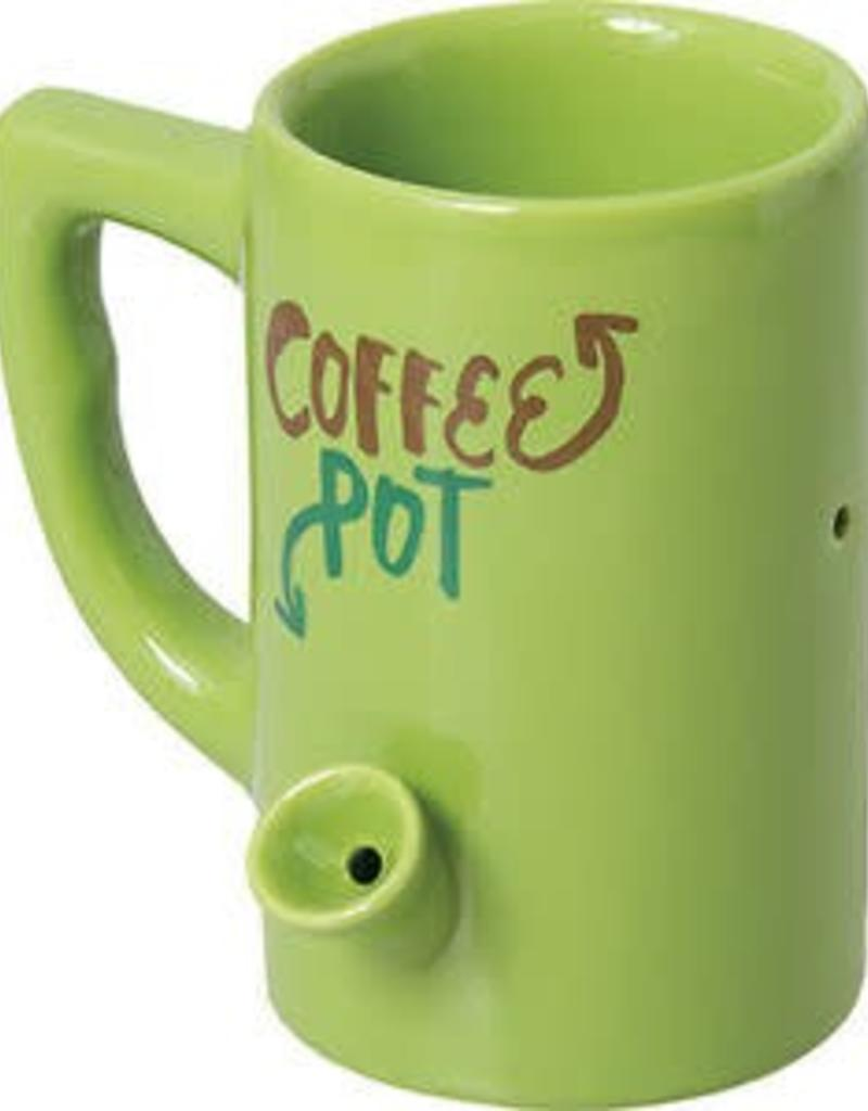 Ceramic Water Pipe Mug -8oz-Coffee Pot : coffee cup pot pipe - www.happyfamilyinstitute.com