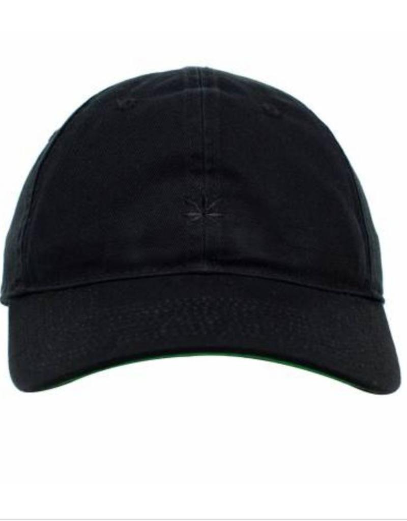 free shipping 4e502 8a087 ... best price no bad ideas leaf olive dad hat black w black leaf green  corner 03a61