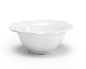 Ruffle Round Dip Bowl