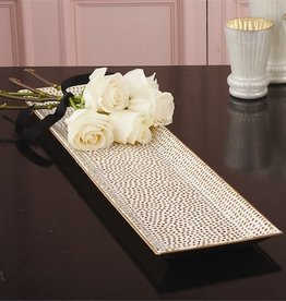 Gold Dot Mosaic Tray