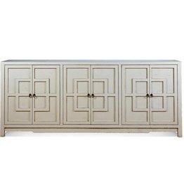 "Key Cabinet - White  92"""