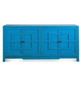 """Key Cabinet - Turquoise  72"""""""