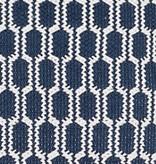 Terra Indigo Woven Cotton Rug 2x3
