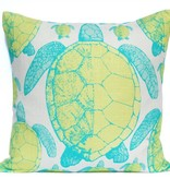 Sea Turtle Print Pillow