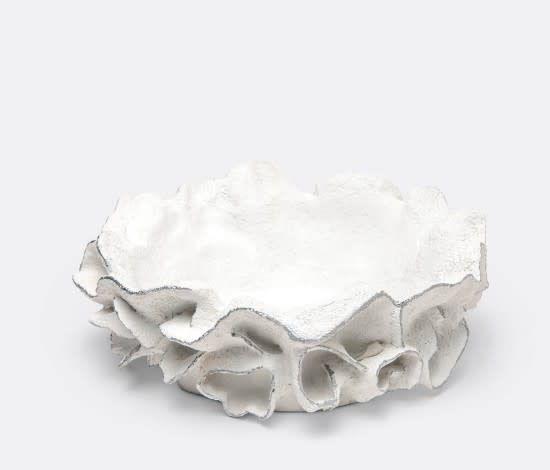 Round Silver Coco Bowl