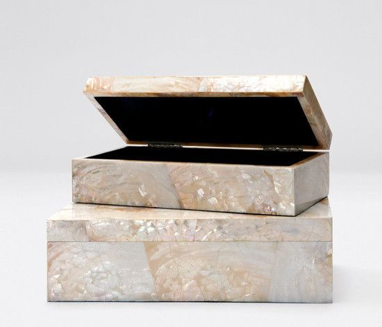 Small Palma Box-Kabibe Shell
