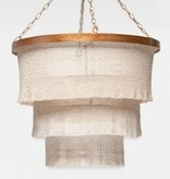 Patricia Cocoa Beaded Chandelier