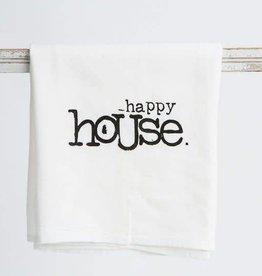 """""""Happy House"""" Towel"""